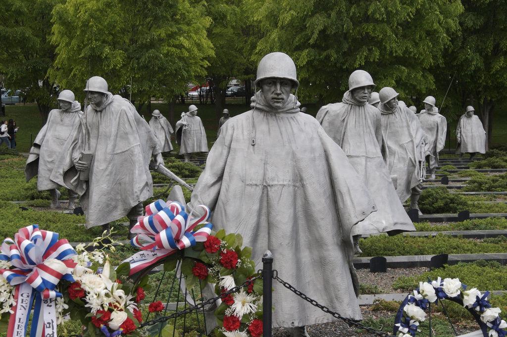 The Korean War Memorial, Washington DC
